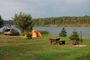 Domki nad jeziorem Kaszuby